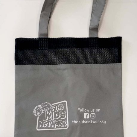 Tote Netted Bag (Grey)